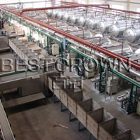 Automatic Finished Can Cage Unloading Machine